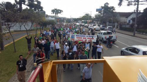 Trabalhadores (as) da Celepar entram em greve por tempo indeterminado