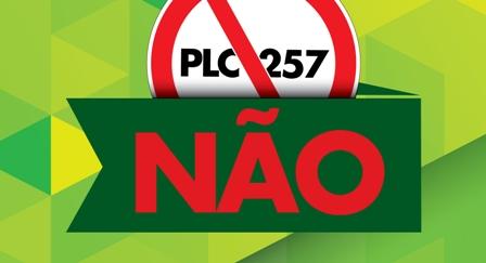 Projeto de Lei Complementar (PLC) 257/2016